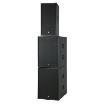 "DAP-Audio Club Mate III Double 15""active speaker set 